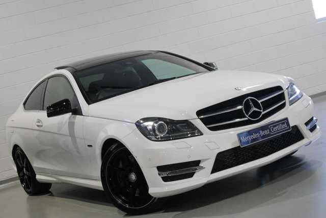 Used Mercedes-Benz C-Class C250 7G-Tronic + Avantgarde, Chatswood, 2015 Mercedes-Benz C-Class C250 7G-Tronic + Avantgarde Coupe