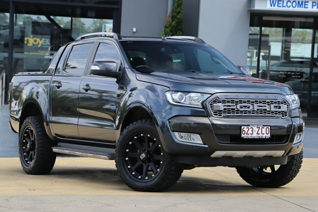 Used Ford Ranger Wildtrak Double Cab, Indooroopilly, 2015 Ford Ranger Wildtrak Double Cab Utility