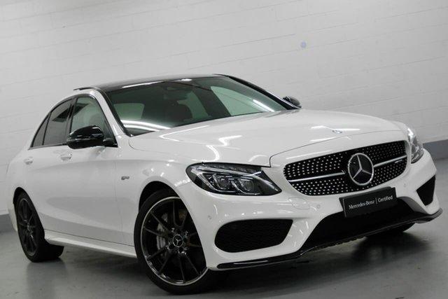 Used Mercedes-Benz C-Class C43 AMG 9G-Tronic 4MATIC, Chatswood, 2017 Mercedes-Benz C-Class C43 AMG 9G-Tronic 4MATIC Sedan