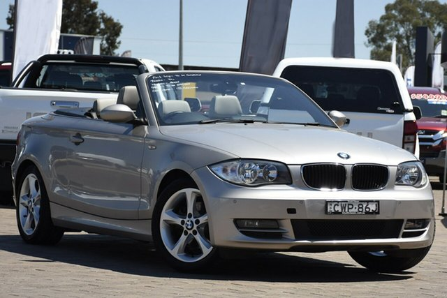Used BMW 120i 120i, Warwick Farm, 2009 BMW 120i 120i Convertible