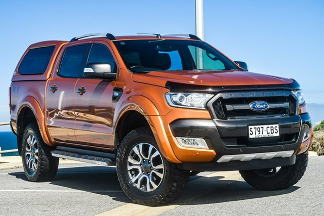 Used Ford Ranger Wildtrak, Reynella, 2016 Ford Ranger Wildtrak Utility