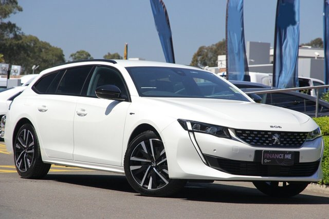 Discounted Demonstrator, Demo, Near New Peugeot 508 GT Sportwagon, Narellan, 2019 Peugeot 508 GT Sportwagon Wagon