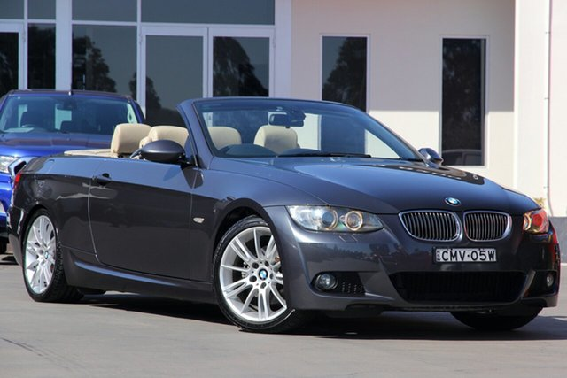 Used BMW 3 Series 325i Steptronic, Narellan, 2008 BMW 3 Series 325i Steptronic Convertible