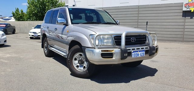 Used Toyota Landcruiser GXL (4x4), Victoria Park, 2002 Toyota Landcruiser GXL (4x4) Wagon