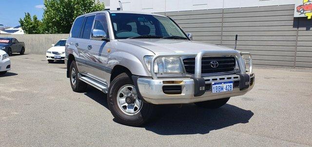 Used Toyota Landcruiser GXL (4x4), Victoria Park, 2002 Toyota Landcruiser GXL (4x4) Wagon