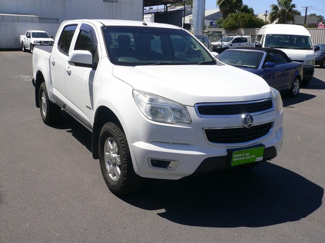 Used Holden Colorado LT Crew Cab 4x2, St Marys, 2013 Holden Colorado LT Crew Cab 4x2 Utility