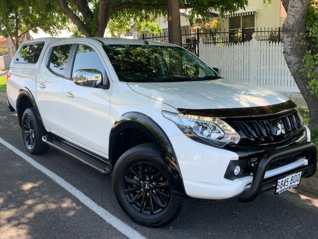 Used Mitsubishi Triton GLS Double Cab Sports Edition, Cheltenham, 2017 Mitsubishi Triton GLS Double Cab Sports Edition Utility