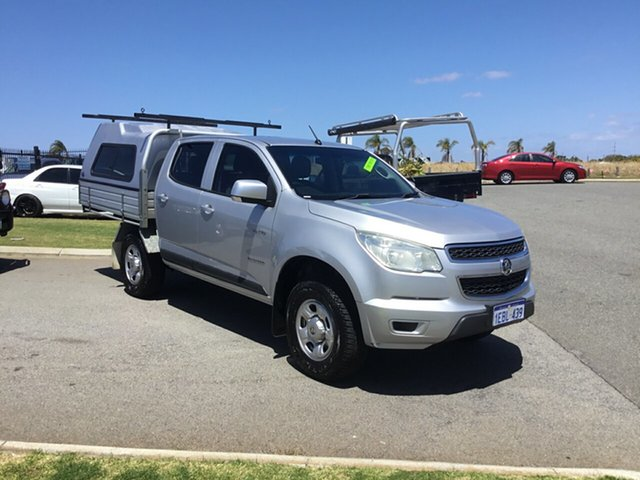 Used Holden Colorado LX (4x2), Wangara, 2012 Holden Colorado LX (4x2) Crew Cab Chassis