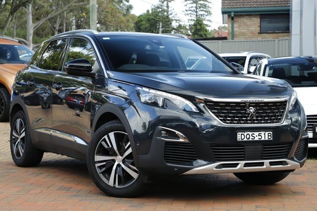 Discounted Used Peugeot 3008 GT Line SUV, Warwick Farm, 2017 Peugeot 3008 GT Line SUV Hatchback
