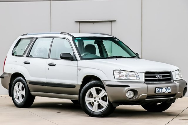 Discounted Used Subaru Forester XS AWD, Pakenham, 2003 Subaru Forester XS AWD Wagon