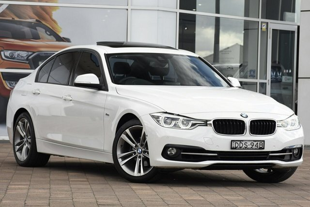 Discounted Used BMW 3 Series 318i Sport Line, Warwick Farm, 2015 BMW 3 Series 318i Sport Line Sedan