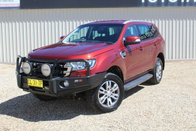 Used Ford Everest Trend (4WD), Bathurst, 2017 Ford Everest Trend (4WD) Wagon