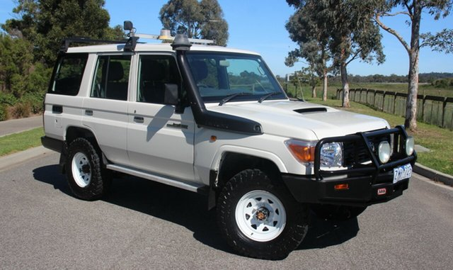 Used Toyota Landcruiser Workmate, Officer, 2012 Toyota Landcruiser Workmate Wagon