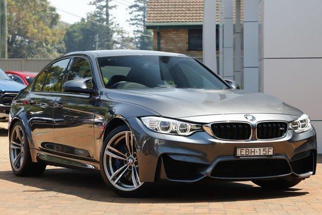 Used BMW M3 M-DCT, Artarmon, 2014 BMW M3 M-DCT Sedan