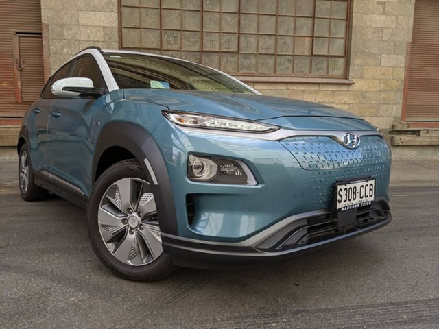 Demonstrator, Demo, Near New Hyundai Kona electric Highlander, Cheltenham, 2019 Hyundai Kona electric Highlander Wagon