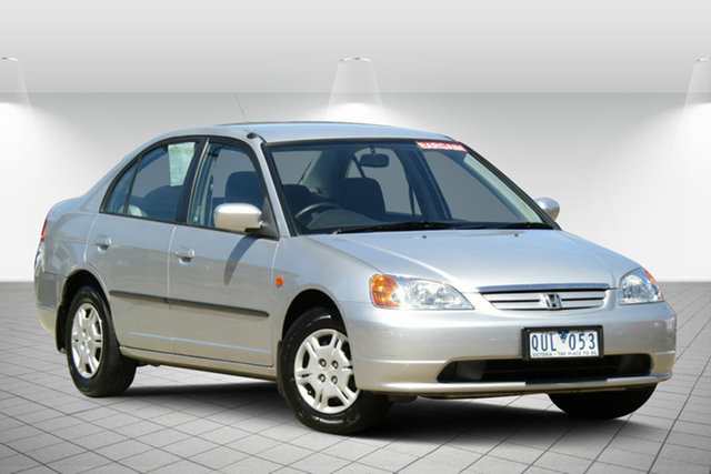 Used Honda Civic GLi, Oakleigh, 2001 Honda Civic GLi Sedan