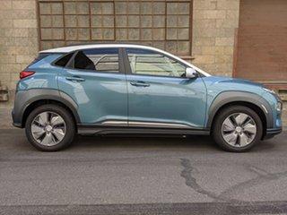 2019 Hyundai Kona electric Highlander Wagon.