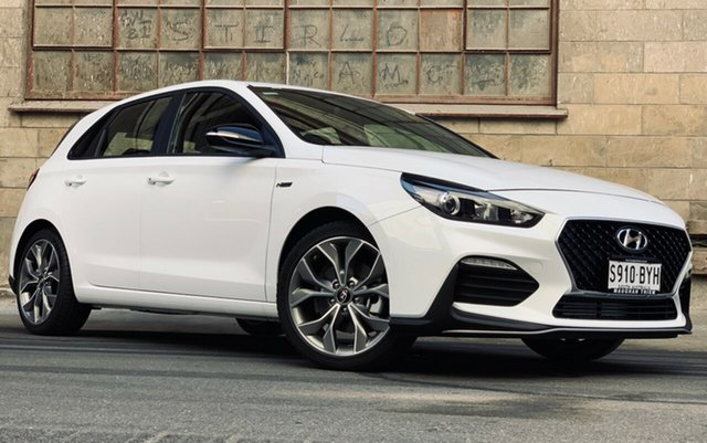 Demonstrator, Demo, Near New Hyundai i30 N Line, Cheltenham, 2019 Hyundai i30 N Line Hatchback