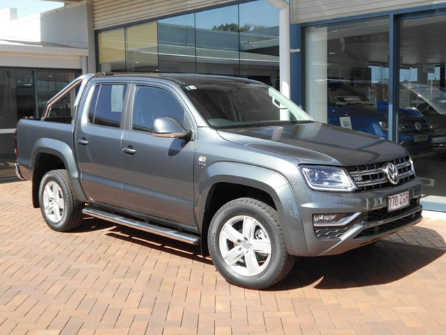Discounted Demonstrator, Demo, Near New Volkswagen Amarok TDI550 4MOTION Perm Highline, Toowoomba, 2019 Volkswagen Amarok TDI550 4MOTION Perm Highline Utility
