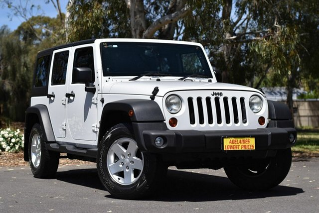 Used Jeep Wrangler Unlimited Sport, Enfield, 2013 Jeep Wrangler Unlimited Sport Softtop