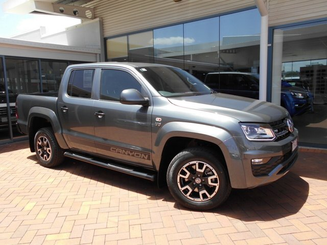 Discounted Demonstrator, Demo, Near New Volkswagen Amarok TDI550 4MOTION Perm Canyon, Toowoomba, 2019 Volkswagen Amarok TDI550 4MOTION Perm Canyon Utility