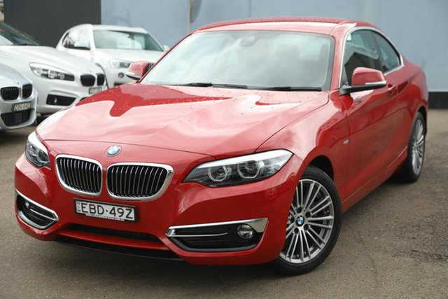 Used BMW 220i Luxury Line, Brookvale, 2019 BMW 220i Luxury Line Coupe