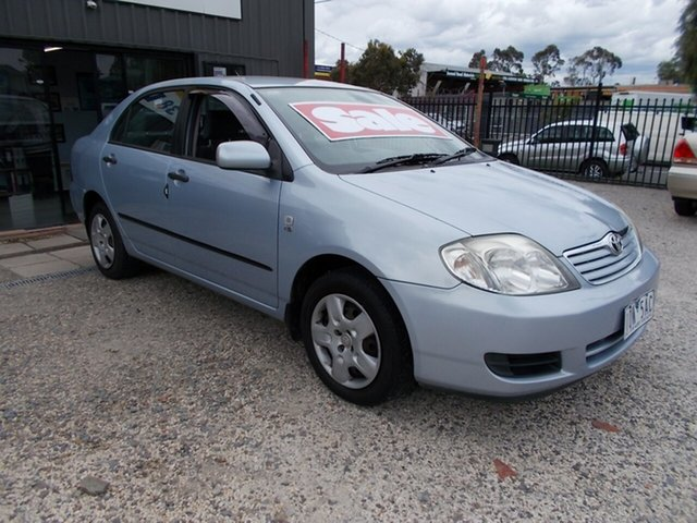 Used Toyota Corolla Ascent, Bayswater, 2006 Toyota Corolla Ascent Sedan