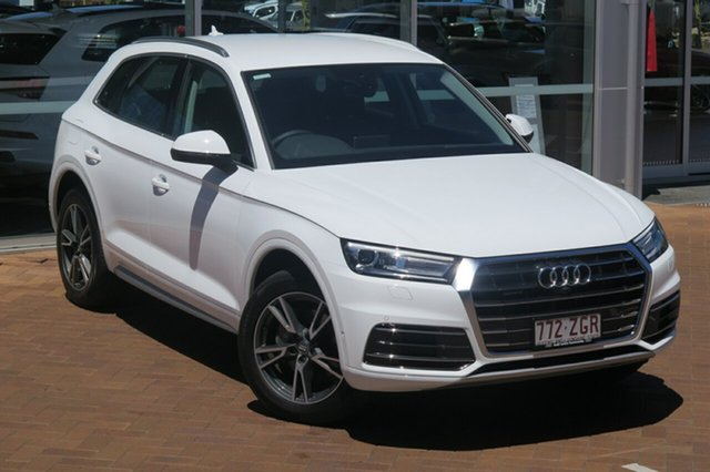 Demonstrator, Demo, Near New Audi Q5 40 TDI S Tronic Quattro Ultra design, Toowoomba, 2019 Audi Q5 40 TDI S Tronic Quattro Ultra design Wagon