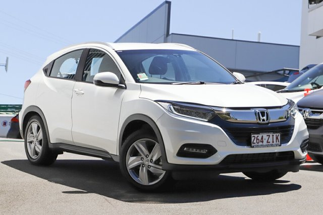 Demonstrator, Demo, Near New Honda HR-V +Luxe, Indooroopilly, 2019 Honda HR-V +Luxe Hatchback