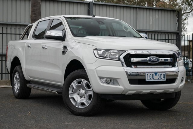 Used Ford Ranger XLT Double Cab 4x2 Hi-Rider, 2016 Ford Ranger XLT Double Cab 4x2 Hi-Rider PX MkII Utility