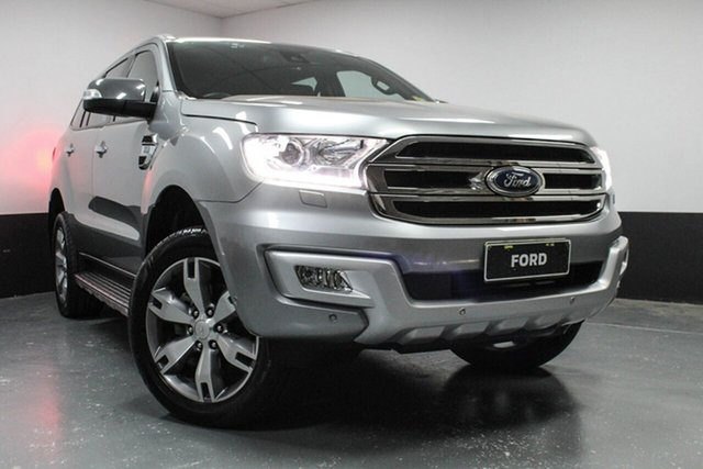 Used Ford Everest Titanium 4WD, Cardiff, 2016 Ford Everest Titanium 4WD Wagon