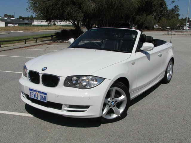 Used BMW 1 Series 118d Steptronic, Maddington, 2009 BMW 1 Series 118d Steptronic Convertible
