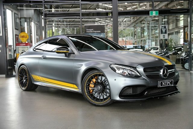 Used Mercedes-Benz C-Class C63 AMG SPEEDSHIFT MCT S, North Melbourne, 2017 Mercedes-Benz C-Class C63 AMG SPEEDSHIFT MCT S Coupe
