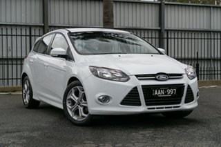 Used Ford Focus Sport PwrShift, Oakleigh, 2013 Ford Focus Sport PwrShift LW MkII Hatchback