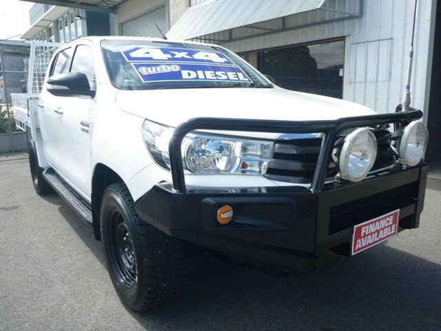 Used Toyota Hilux SR Double Cab, Edwardstown, 2016 Toyota Hilux SR Double Cab Cab Chassis