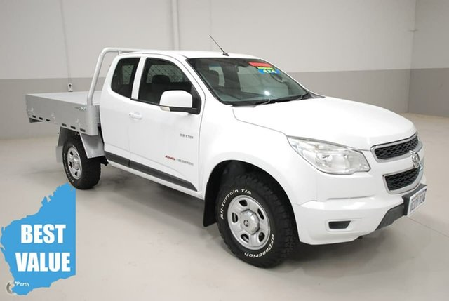 Used Holden Colorado LX Space Cab, Kenwick, 2013 Holden Colorado LX Space Cab Cab Chassis