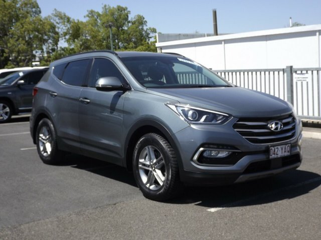 Used Hyundai Santa Fe Active, Toowoomba, 2018 Hyundai Santa Fe Active Wagon