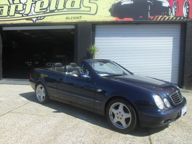 Used Mercedes-Benz CLK320 Elegence, O'Connor, 1998 Mercedes-Benz CLK320 Elegence Convertible