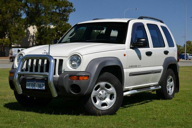 Used Jeep Cherokee Sport (4x4), Rockingham, 2003 Jeep Cherokee Sport (4x4) Wagon