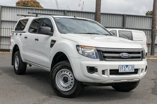 Used Ford Ranger XL Double Cab 4x2 Hi-Rider, Oakleigh, 2015 Ford Ranger XL Double Cab 4x2 Hi-Rider PX Cab Chassis