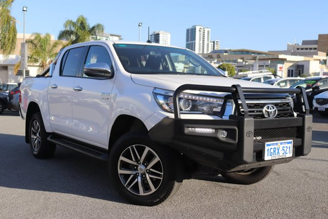 Used Toyota Hilux SR5 (4x4), Northbridge, 2018 Toyota Hilux SR5 (4x4) Double Cab Pickup