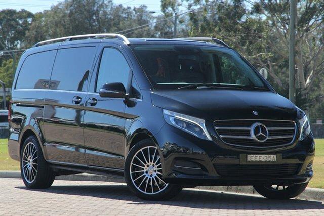 Used Mercedes-Benz V-Class V250 d 7G-Tronic + Avantgarde, Warwick Farm, 2015 Mercedes-Benz V-Class V250 d 7G-Tronic + Avantgarde Wagon