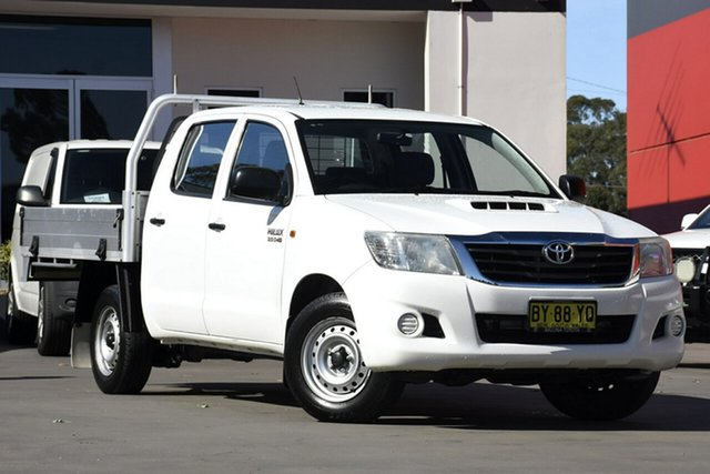 Used Toyota Hilux SR Double Cab 4x2, Narellan, 2013 Toyota Hilux SR Double Cab 4x2 Utility