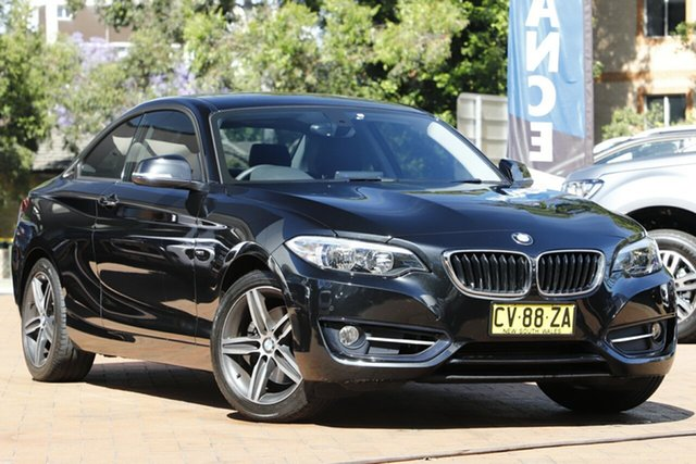 Used BMW 2 Series 220i Sport Line, Artarmon, 2014 BMW 2 Series 220i Sport Line Coupe