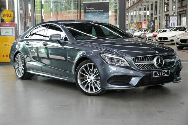 Used Mercedes-Benz CLS-Class CLS250 d Coupe 7G-Tronic +, North Melbourne, 2015 Mercedes-Benz CLS-Class CLS250 d Coupe 7G-Tronic + Sedan
