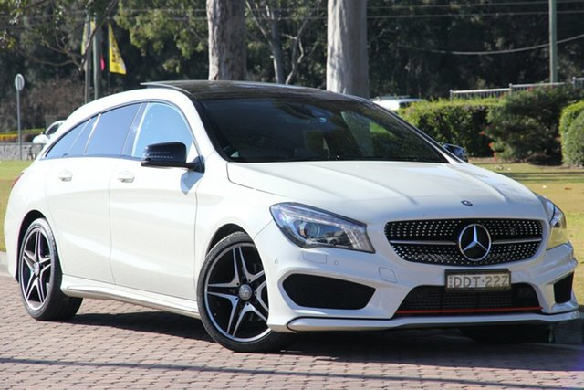 Used Mercedes-Benz CLA-Class CLA200 Shooting Brake DCT, Warwick Farm, 2015 Mercedes-Benz CLA-Class CLA200 Shooting Brake DCT Wagon