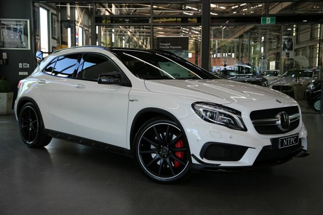 Used Mercedes-Benz GLA-Class GLA45 AMG SPEEDSHIFT DCT 4MATIC, North Melbourne, 2015 Mercedes-Benz GLA-Class GLA45 AMG SPEEDSHIFT DCT 4MATIC Wagon