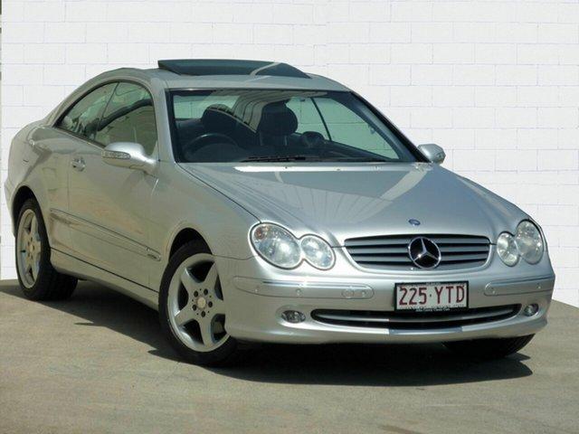 Used Mercedes-Benz CLK320 Elegance, Moorooka, 2005 Mercedes-Benz CLK320 Elegance Coupe