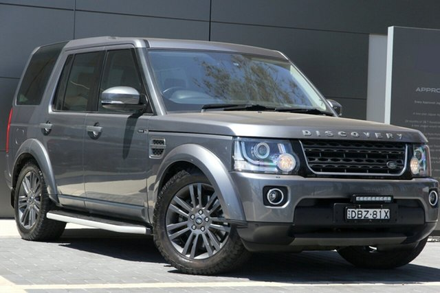 Used Land Rover Discovery TDV6 Graphite, Narellan, 2016 Land Rover Discovery TDV6 Graphite SUV