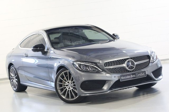 Used Mercedes-Benz C-Class C300 7G-Tronic +, Chatswood, 2016 Mercedes-Benz C-Class C300 7G-Tronic + Coupe
